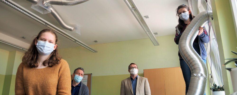 "Mit sauberer Luft zu ""Jugend forscht"""