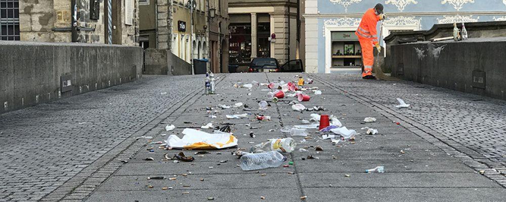 Hinter den Kulissen: Wer die Welterbe-Stadt Bamberg sauber macht