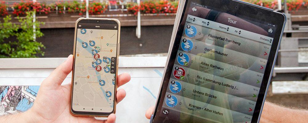 Flusspfad Bamberg jetzt digital erlebbar