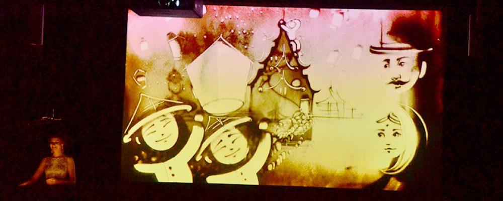 """Sandtastisch! Die """"Queen of Sand"""", Irina Titova, begeistert mit ihrer Show"""