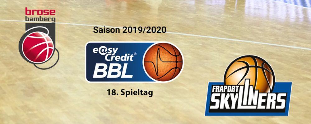 BBL-Klassiker zum Rückrundenstart: Bamberg trifft auf Frankfurt