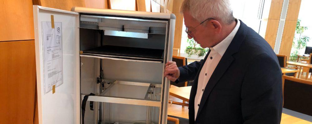 Landkreis beschafft 64 Luftreinigungsgeräte