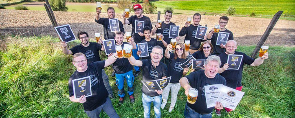 Medaillenregen für Weiherer Biere