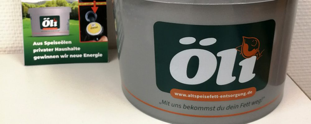 Wertstoffhof Hirschaid: Ab sofort Sammlung von Speiseöl