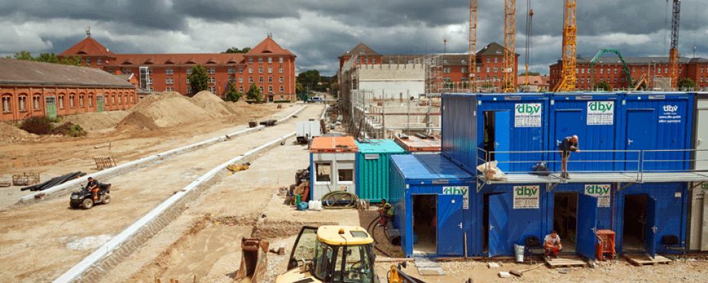 Baustellenführung auf dem Lagarde-Campus